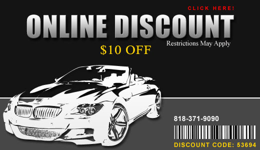 Auto Glass Repair Discount